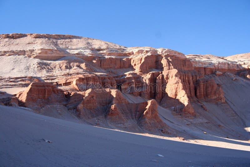 Valle DE La Luna royalty-vrije stock afbeelding