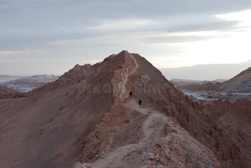Valle DE La Luna royalty-vrije stock afbeeldingen