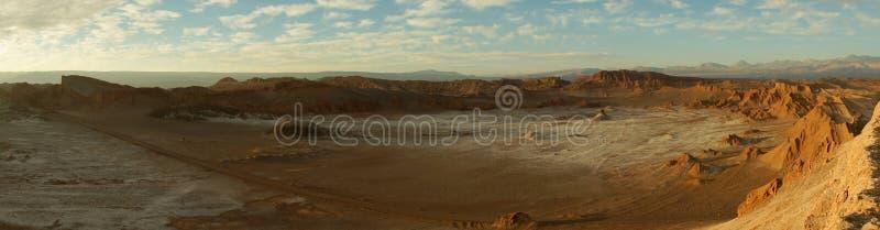Valle de la Luna in the Atacama Desert, Chile. royalty free stock photo