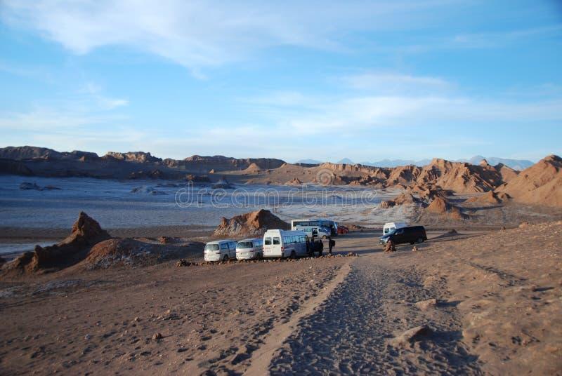 Valle de la Luna, Chile royalty free stock image