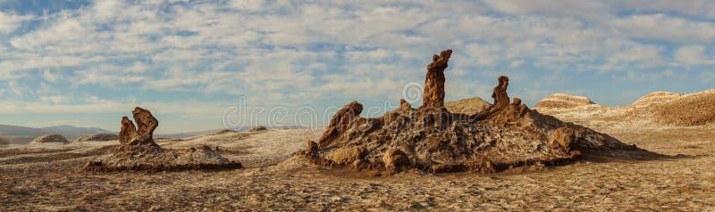 Valle-De-La Luna in der Atacama-Wüste, Chile stockfotografie