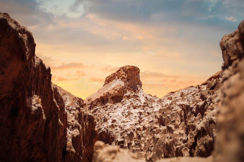 Valle de la Luna (Moon Valley) stock photography