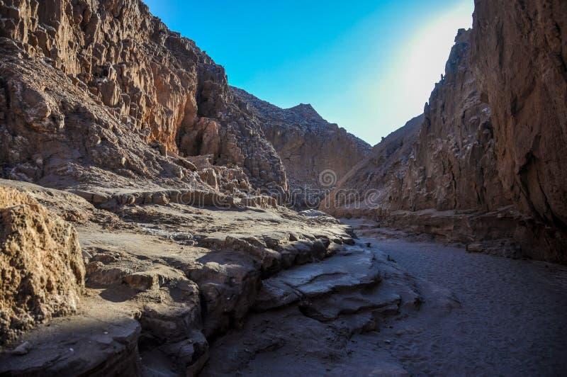 Valle de la Luna near San Pedro de Atacama, Chile stock photography