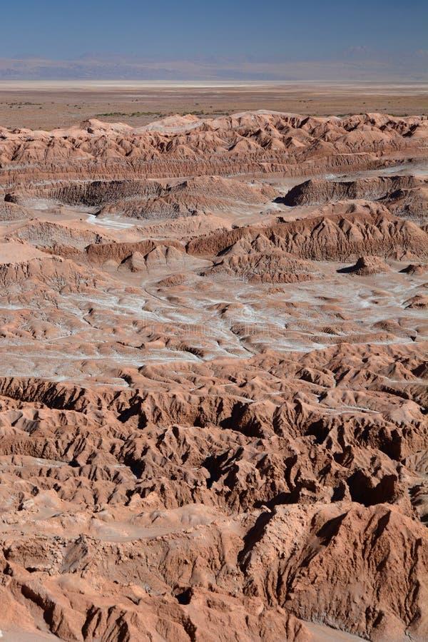 Valle-De-La Luna oder Mond-Tal San Pedro de Atacama chile stockfotos