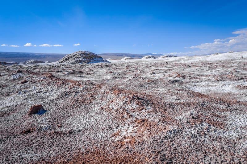 Valle-De-La Luna in San Pedro de Atacama, Chile lizenzfreie stockfotografie