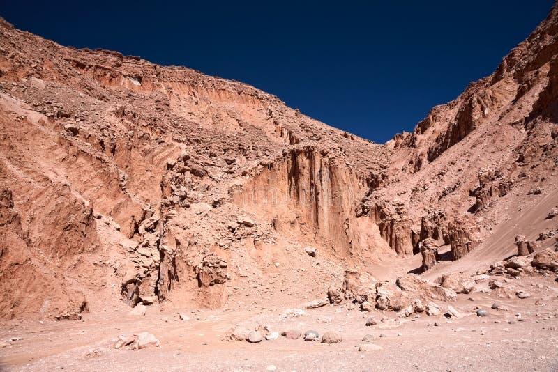 Valle de la Muerte (Death Valley), Cile fotografia stock libera da diritti
