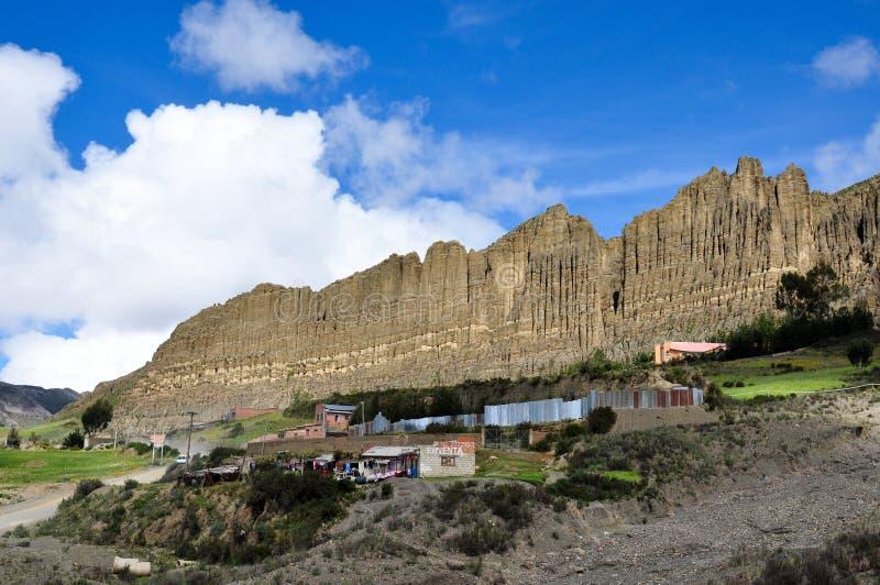 Valle de las Animas, La Paz, Bolivia fotografia stock libera da diritti
