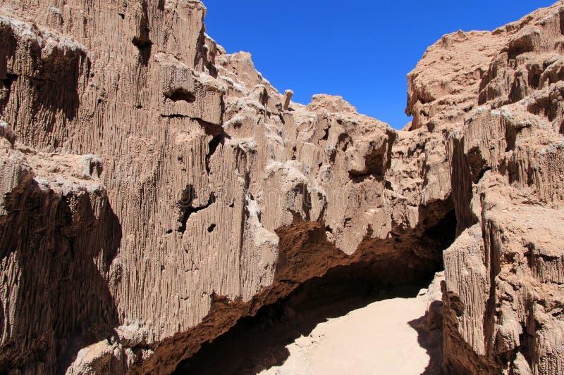 Valle de los angeles Luna, dolina księżyc, Atacama pustynia Chile zdjęcia royalty free
