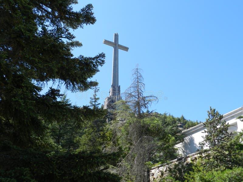 Valle de los Caidos, Tomb of Francisco Franco. San Lorenzo de El Escorial, Madrid, Spain. stock photos