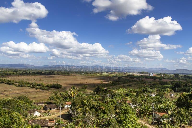 Valle de los Ingenios Dal på Kuba royaltyfri fotografi