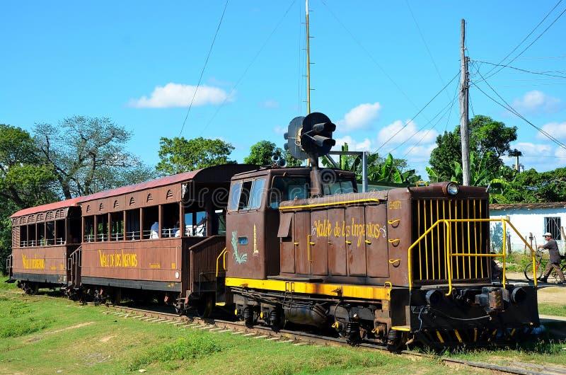 Valle de los ingenios; Trinidad Kuba royaltyfri foto