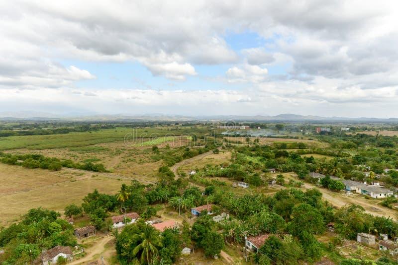 Valle de los Ingenios, Trinidad, Kuba arkivbilder