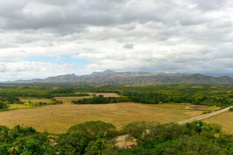 Valle de los Ingenios, Trinidad, Kuba arkivfoton