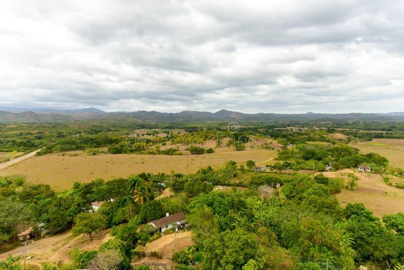 Valle de los Ingenios, Trinidad, Kuba arkivfoto