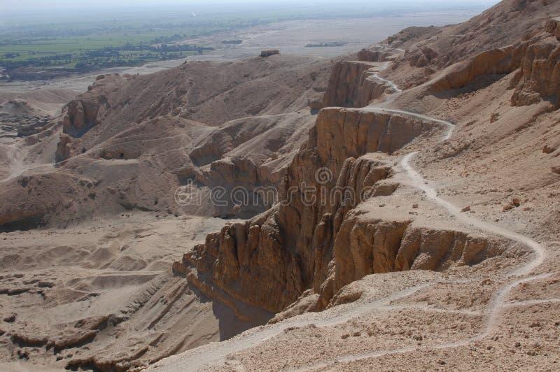 Valle de los reyes fotos de archivo