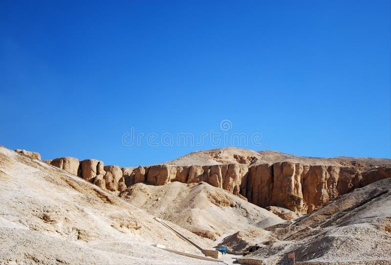 Valle de los reyes foto de archivo