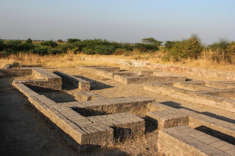Valle de Lothal Indus imagen de archivo