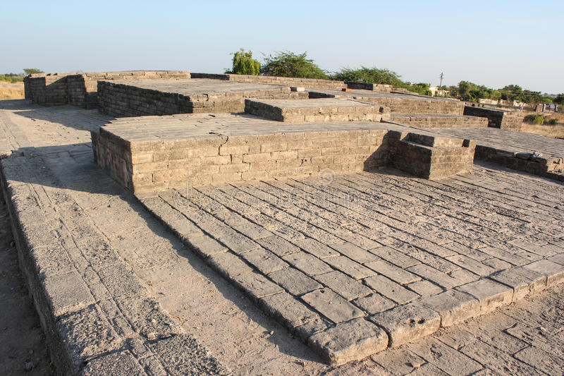 Valle de Lothal Indus foto de archivo libre de regalías
