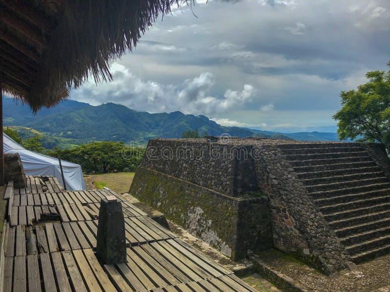 Valle de Malinalco imagen de archivo libre de regalías