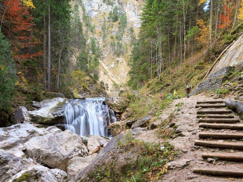 Valle de Neuschwanstein fotografía de archivo libre de regalías