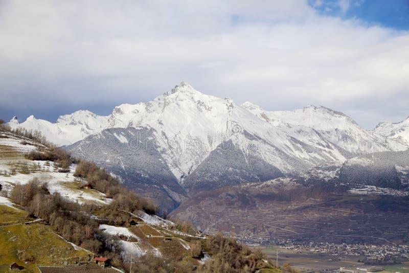 Valle de Rhone imagen de archivo libre de regalías