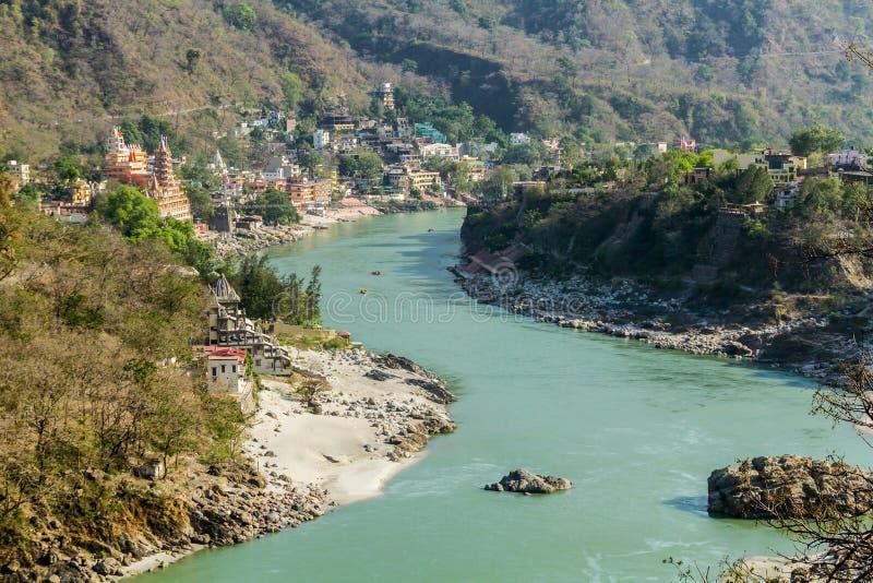 Valle de Rishikesh imagen de archivo libre de regalías