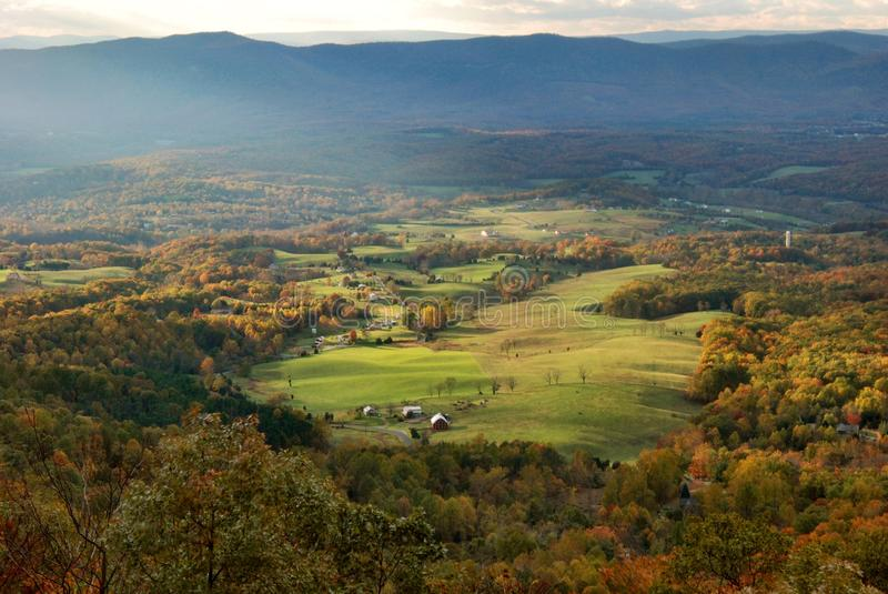 Valle de Shenandoah, Virginia fotografía de archivo