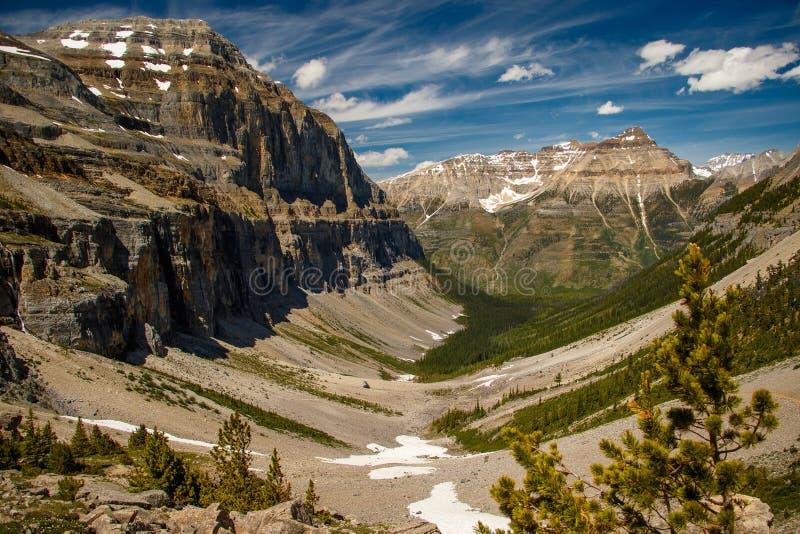 Valle de Stanley Glacier en Yoho National Park, Canadá fotos de archivo libres de regalías