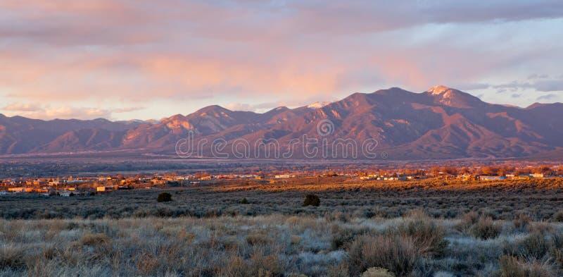 Valle de Taos, New México fotos de archivo libres de regalías