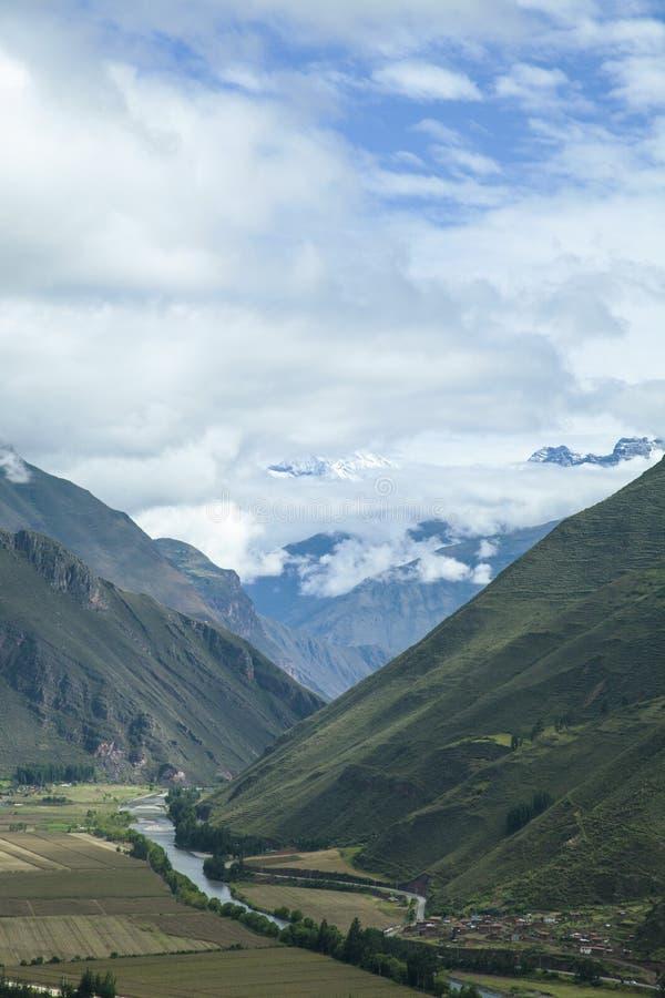 Valle de Urubamba, Perú fotografía de archivo libre de regalías