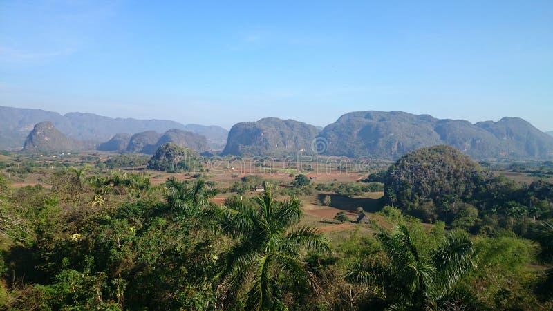 Valle de Viñales en Cuba imagen de archivo