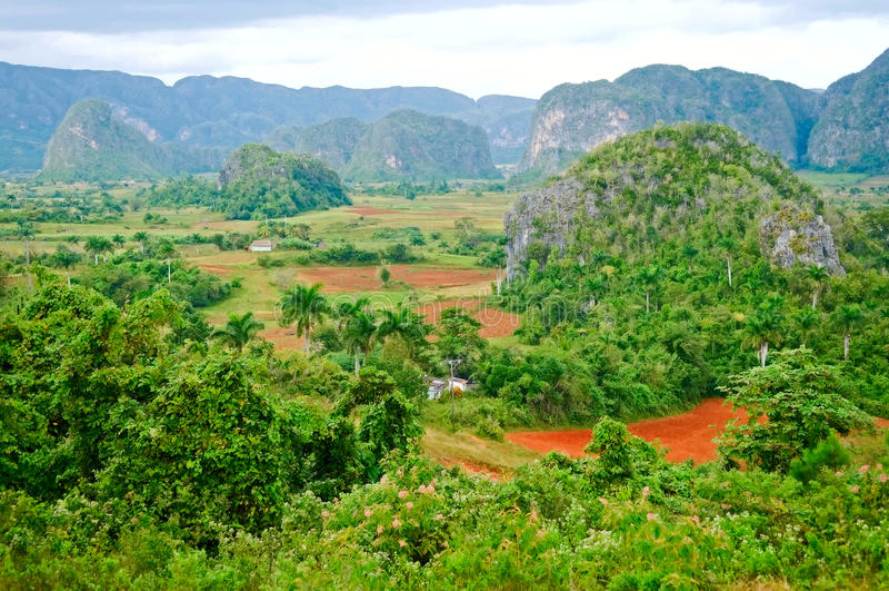 Valle de Vinales, Cuba fotografía de archivo libre de regalías