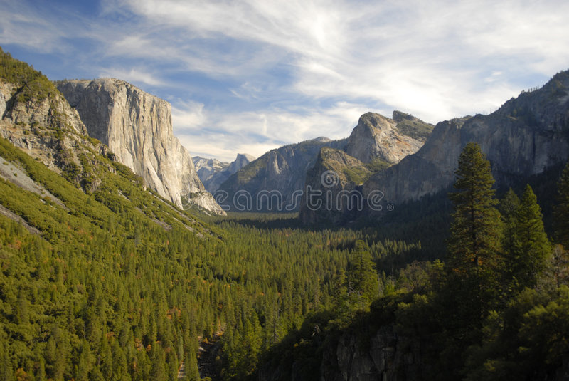 Valle de Yosemite foto de archivo