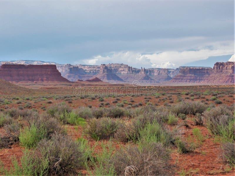 Valle dei nell'Utah immagini stock