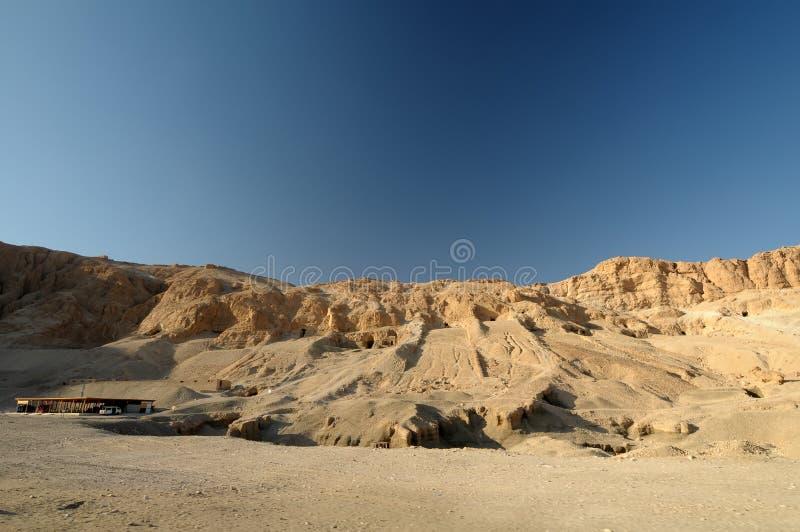 Valle dei re Egitto immagini stock libere da diritti