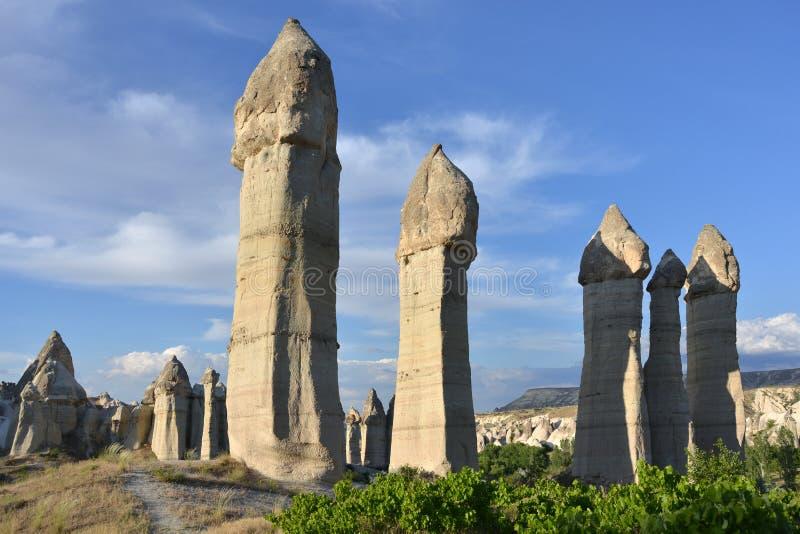 Valle del amor en Cappadocia imágenes de archivo libres de regalías