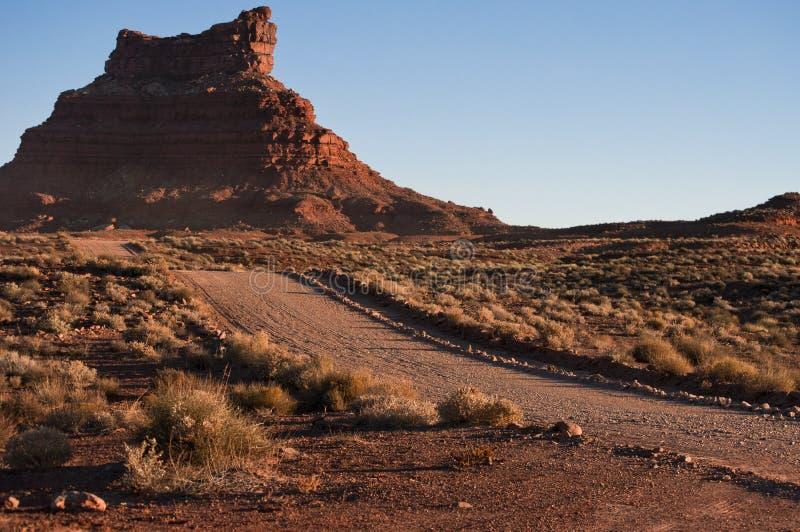 Valle del camino de tierra de dioses fotos de archivo