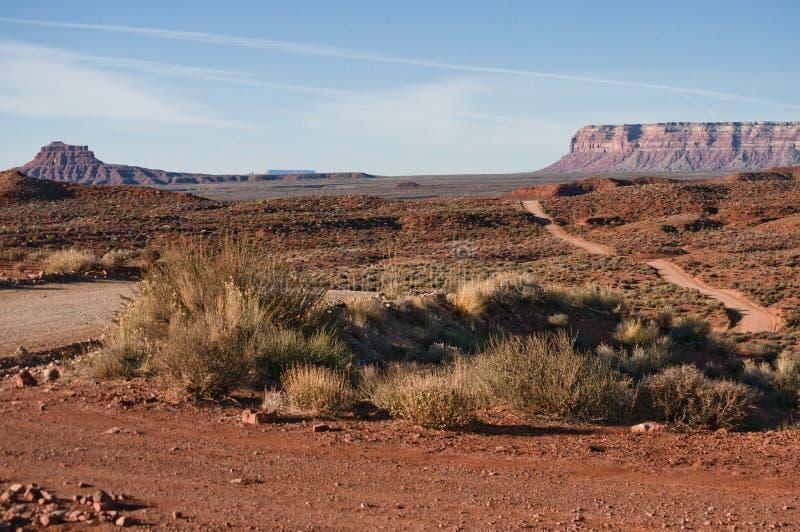 Valle del camino del paisaje de dioses foto de archivo