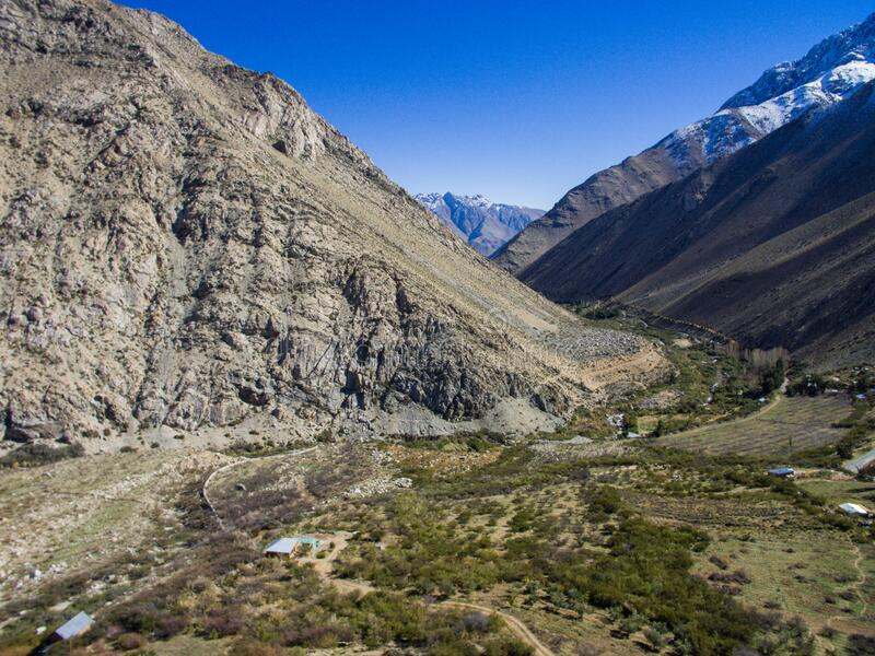 Valle del Elqui, Chile stock photography