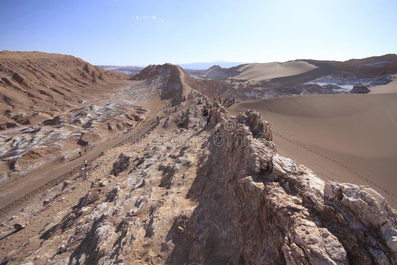 Download Valle Del Luna - Dolina Księżyc W Atacama, Chile Obraz Stock - Obraz złożonej z góra, mieszkanie: 57671245