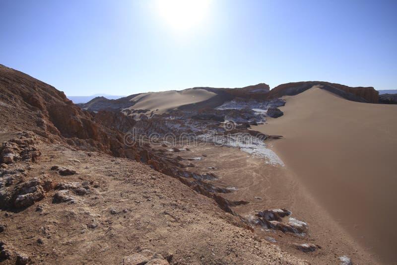 Download Valle Del Luna - Dolina Księżyc W Atacama, Chile Zdjęcie Stock - Obraz złożonej z diuna, szaleństwo: 57671264