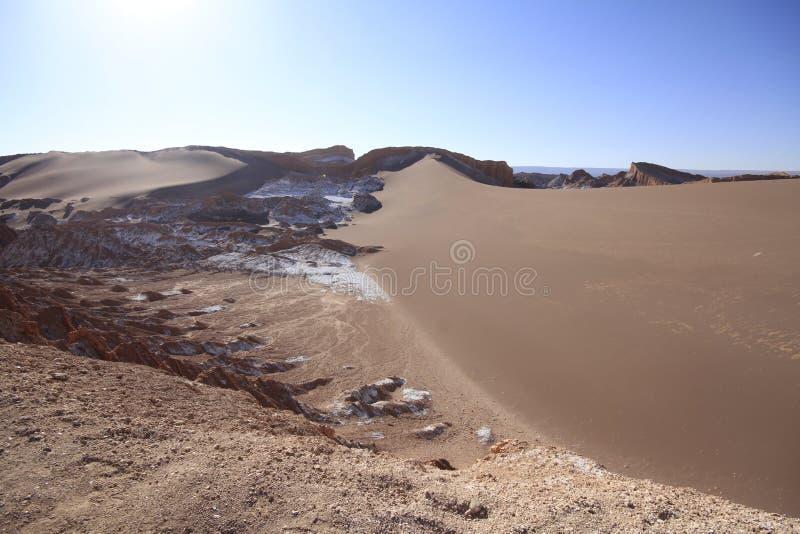 Download Valle Del Luna - Dolina Księżyc W Atacama, Chile Obraz Stock - Obraz złożonej z brąz, diuna: 57671273