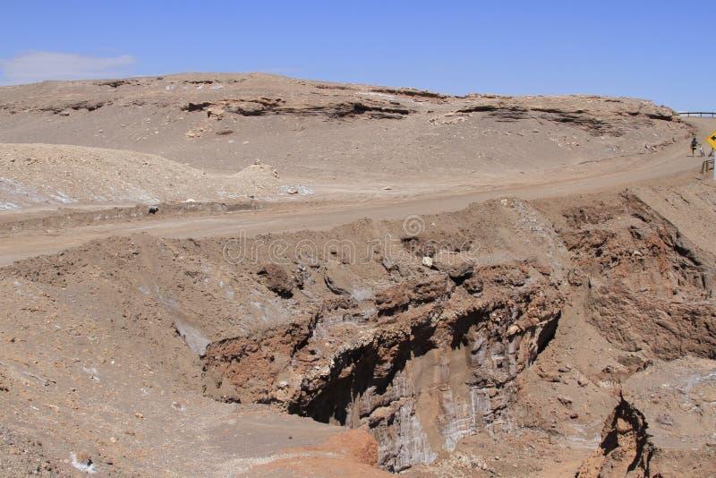 Download Valle Del Luna - Dolina Księżyc W Atacama, Chile Obraz Stock - Obraz złożonej z brąz, wzgórza: 57671455