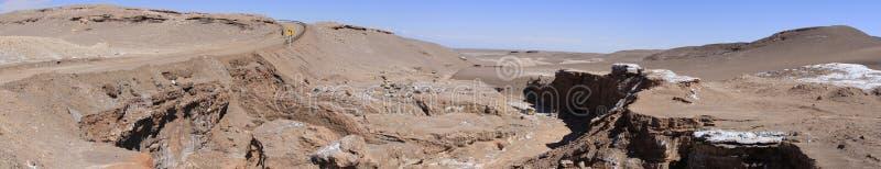 Download Valle Del Luna - Dolina Księżyc W Atacama, Chile Obraz Stock - Obraz złożonej z kratery, dolina: 57671473
