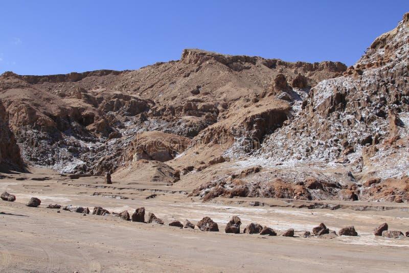 Download Valle Del Luna - Dolina Księżyc W Atacama, Chile Obraz Stock - Obraz złożonej z pył, chmury: 57671487