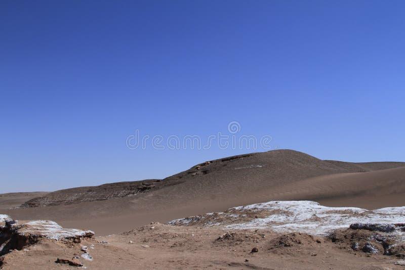 Download Valle Del Luna - Dolina Księżyc W Atacama, Chile Zdjęcie Stock - Obraz złożonej z chmury, piasek: 57671560
