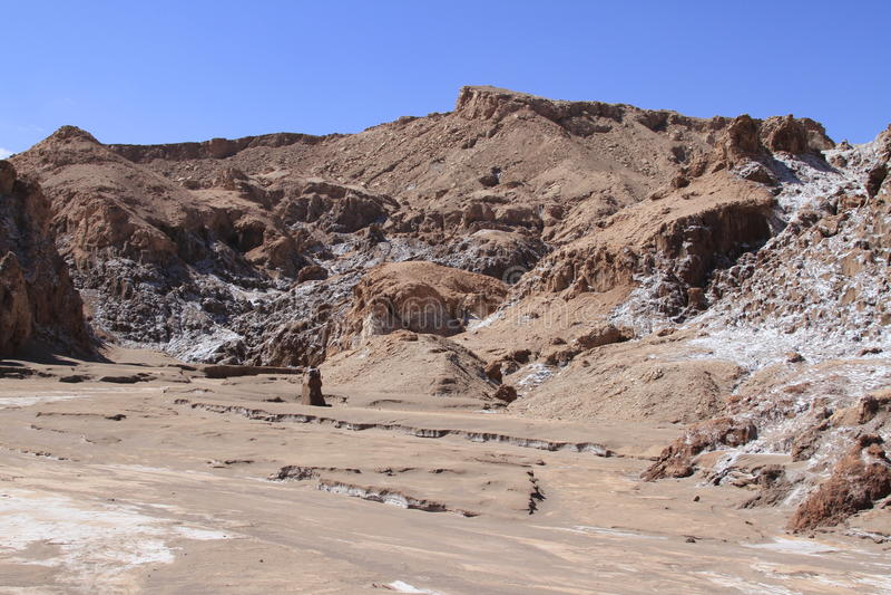 Download Valle Del Luna - Dolina Księżyc W Atacama, Chile Obraz Stock - Obraz złożonej z krater, atacama: 57671571