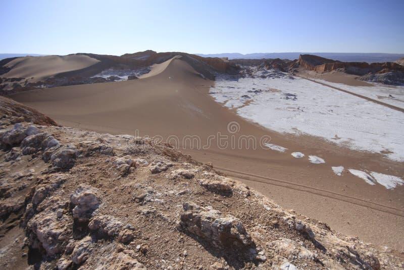 Download Valle Del Luna - Dolina Księżyc W Atacama, Chile Obraz Stock - Obraz złożonej z sól, wzgórza: 57671589
