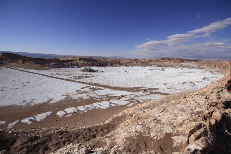 Download Valle Del Luna - Dolina Księżyc W Atacama, Chile Obraz Stock - Obraz złożonej z chmury, dolina: 57671595