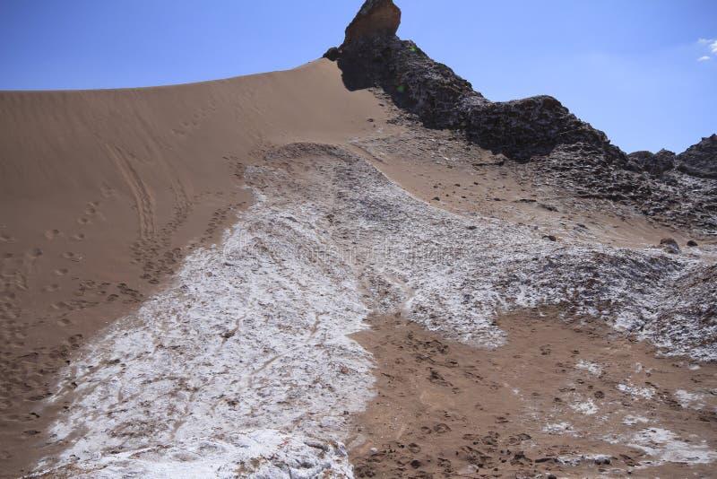 Download Valle Del Luna - Dolina Księżyc W Atacama, Chile Zdjęcie Stock - Obraz złożonej z księżyc, america: 57671690
